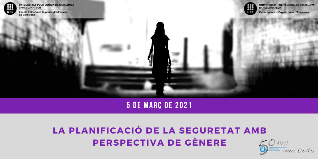 la planificació de la seguretat amb perspectiva de gènere